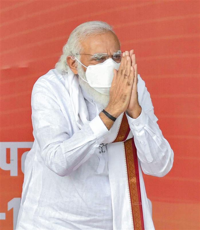 बिहार की जनता के समक्ष प्रदेश को 'बीमार करने वाली ताकतों' से निपटने की चुनौती : मोदी