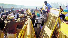 बार्डर-बार्डर डटे किसान, शंभू से लेकर सिंघू तक संग्राम