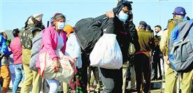 अम्बाला पत्थरबाजी के बाद पुलिस ने किसानों पर मारी पानी की बौछारें