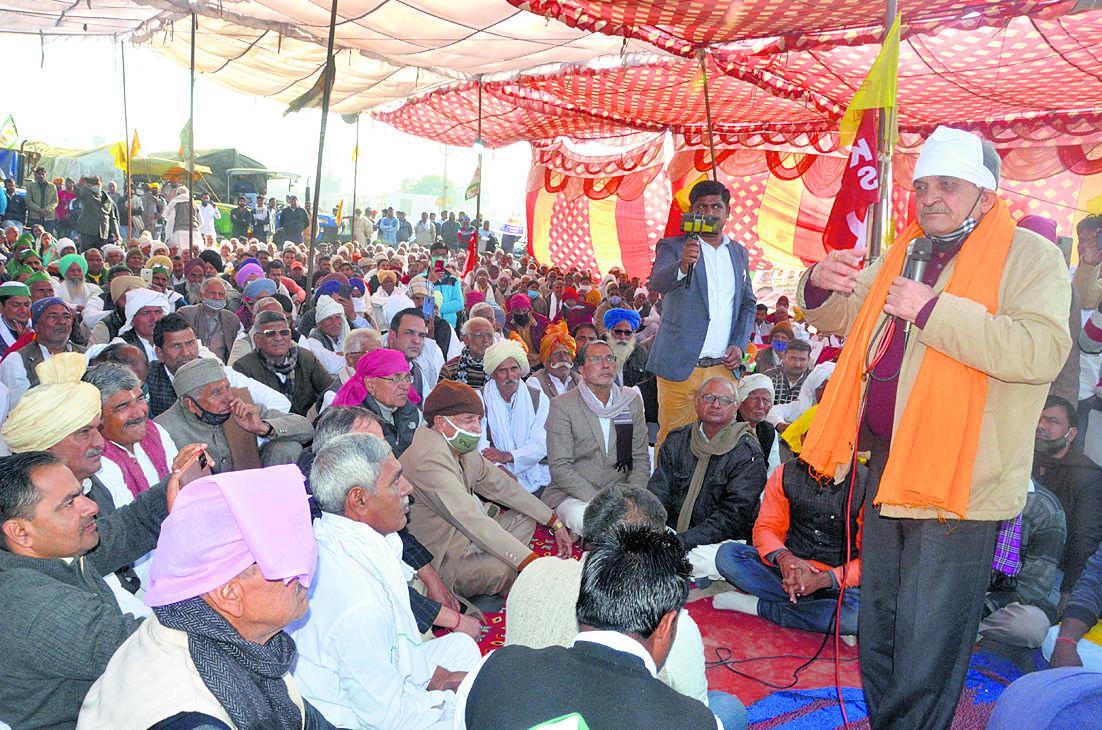 आंदोलन में किसानों की ही होगी जीत : बीरेंद्र