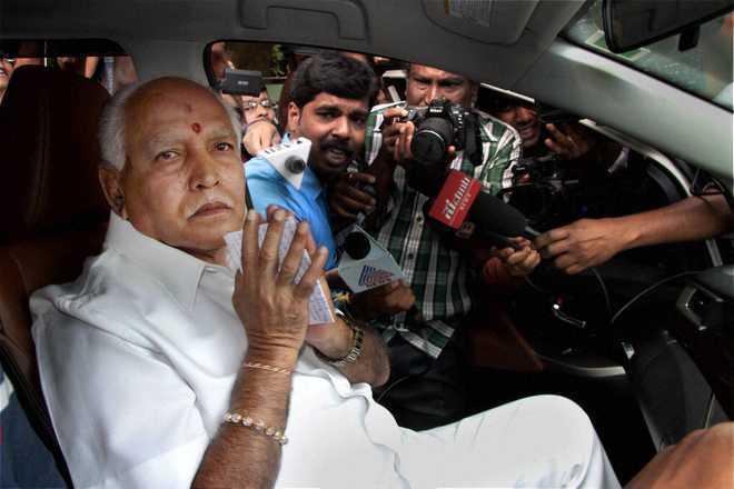 कर्नाटक : मुख्यमंत्री येदियुरप्पा ने किया कैबिनेट विस्तार किया, 7 मंत्रियों ने ली शपथ