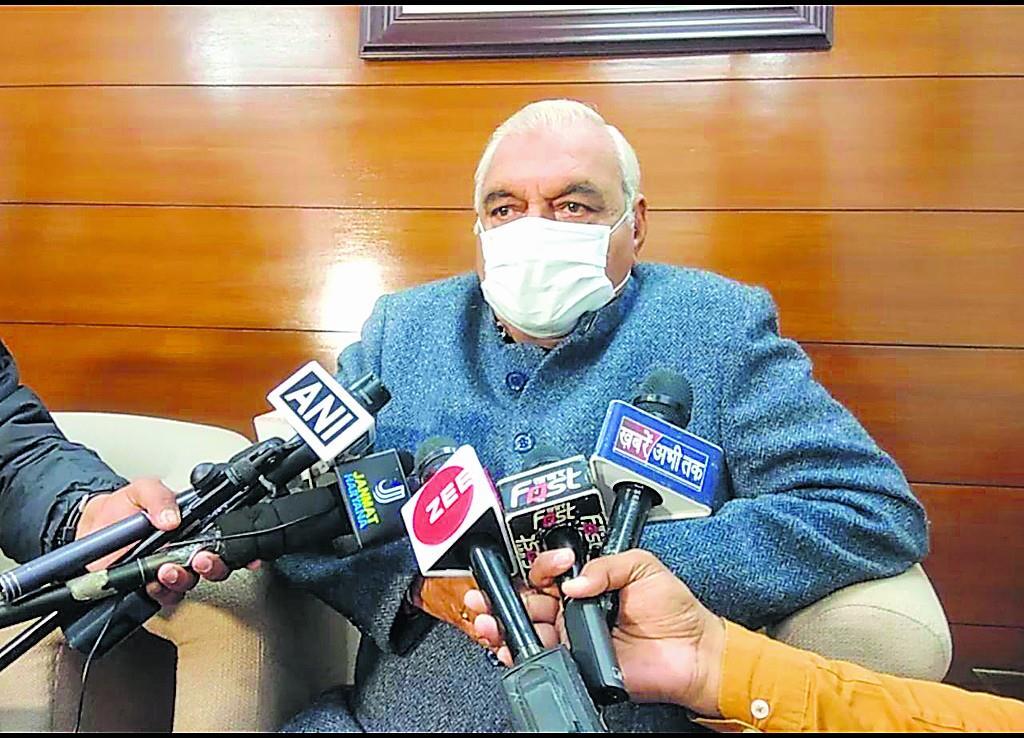 किसानों के साथ टकराव के हालात पैदा न करे सरकार : हुड्डा