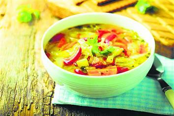 गरमागरम सूप स्वाद के साथ सेहत भी