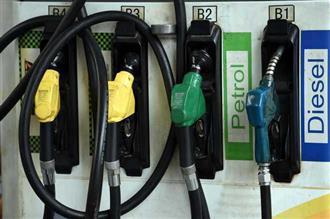 पेट्रोल-डीजल की कीमतों के विरोध में पुतला फूंका