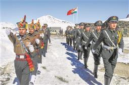 चीनी सैनिकों के साथ सिक्किम में हुई तनातनी