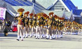 हिमाचल में हर्षोल्लास से मनाया गणतंत्र दिवस