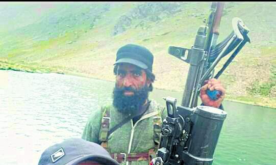 कश्मीर में जैश का शीर्ष कमांडर सोफी ढेर