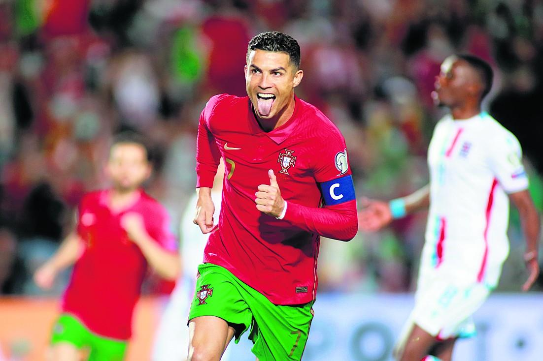 रोनाल्डो की हैट्रिक, लक्समबर्ग पर पुर्तगाल की 5-0 से एकतरफा जीत