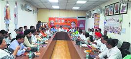 सरकार के 7 साल घर-घर जाकर राम-राम करेंगे भाजपा कार्यकर्ता