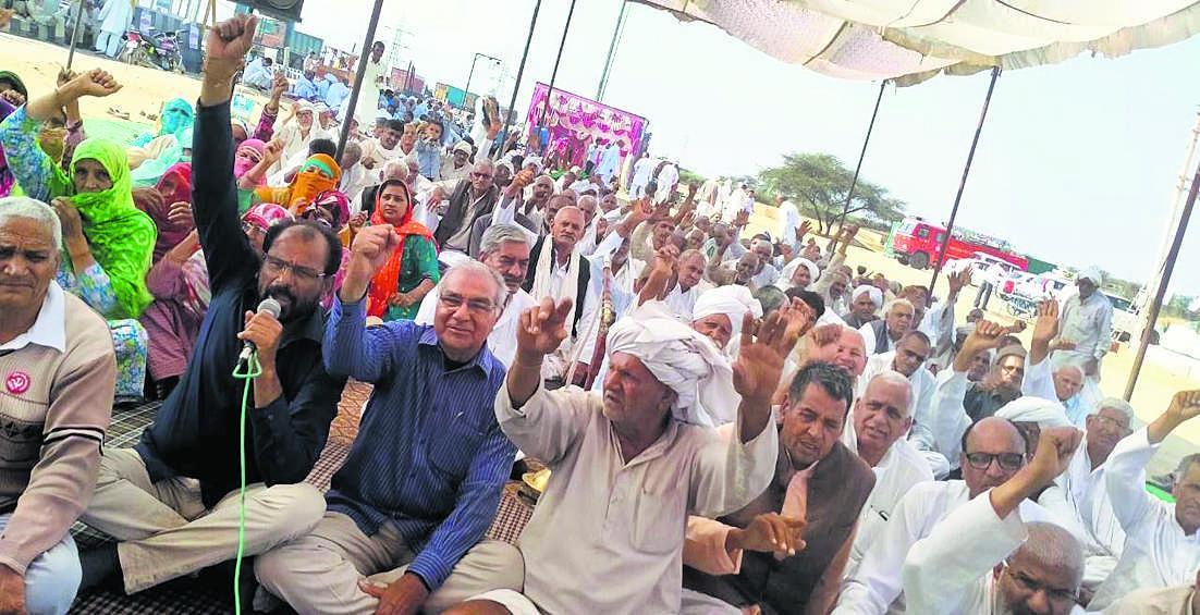 आंदोलन को अंजाम तक पहुंचाने के लिए हर कुर्बानी देंगे