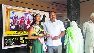 ग्लेमोन मिस इंडिया में रनरअप रही मनीषा