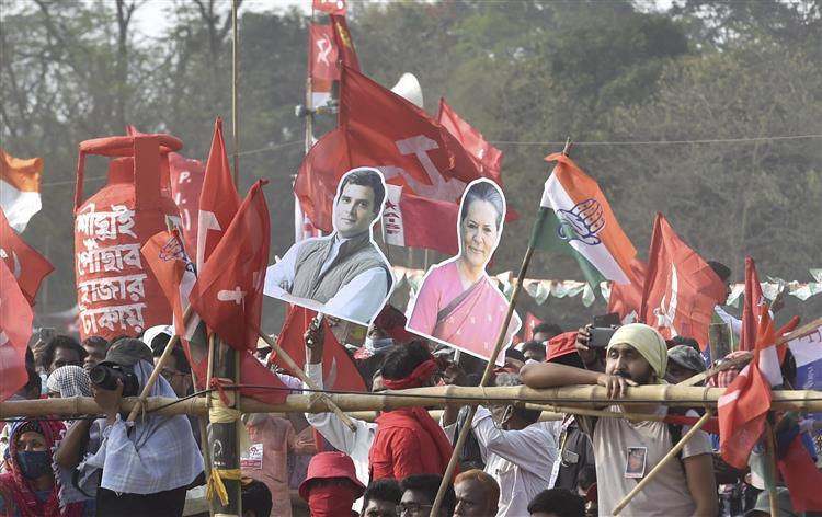 वाम, कांग्रेस व आईएसएफ में सीटें तय