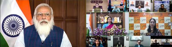 राष्ट्रीय शिक्षा नीति अत्याधुनिक और वैश्विक मानकों के अनुरूप : मोदी