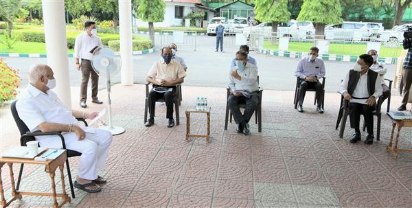 लोग सहयोग नहीं करेंगे तो कर्नाटक में लॉकडाउन लगना निश्चित : येदियुरप्पा