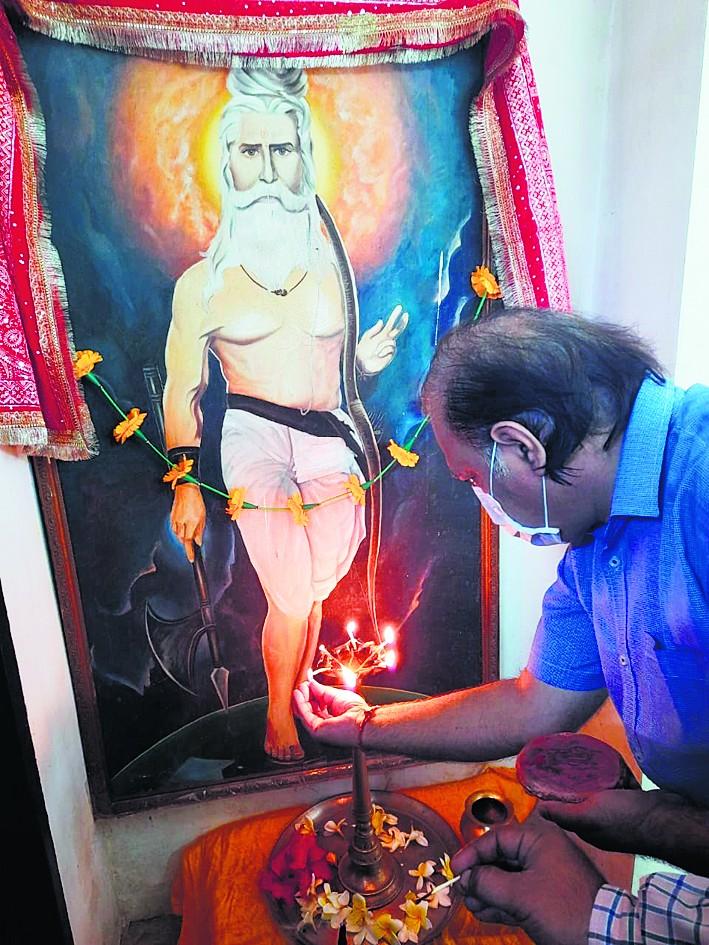 परशुराम जयंती पर पूजन एवं यज्ञ