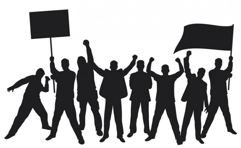 नयी पेंशन को लेकर काली पट्टियां लगाकर जताया विरोध