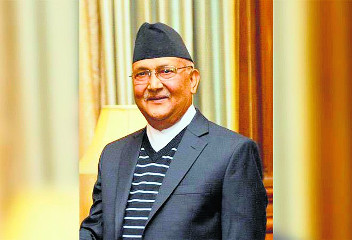 ओली ने फिर ली नेपाल के पीएम पद की शपथ