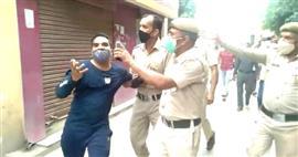 नालागढ़ अस्पताल में कोरोना टेस्ट की किट न होने पर टेस्ट करवाने आये युवक ने खोया आपा, होमगार्ड जवान ने लगाया हाथापाई का आरोप