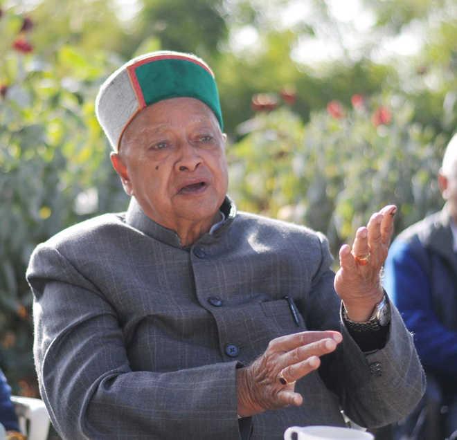 हिमाचल के पूर्व मुख्यमंत्री वीरभद्र सिंह दूसरी बार कोरोना पॉजिटिव