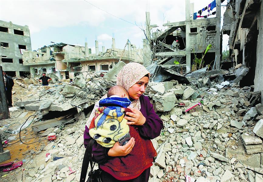 संघर्ष के बाद फिलीस्तीनी हितों की फिक्र