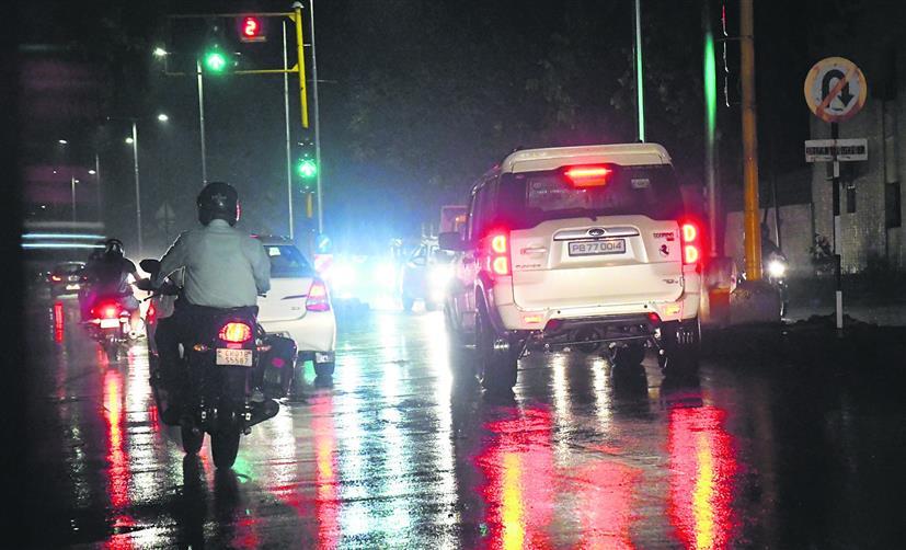 चंडीगढ़ में बरसात से लोगों को मिली राहत