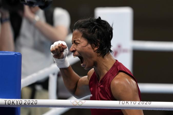 लवलीना ने टोक्यो ओलंपिक में मुक्केबाजी में भारत का पहला पदक किया पक्का