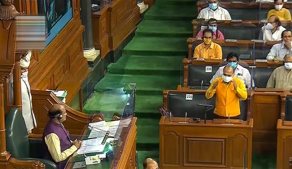 लोकसभा में कांग्रेस सदस्यों के कागज उछालने की घटना को लेकर नोकझोंक, सदन की बैठक दिनभर के लिये स्थगित
