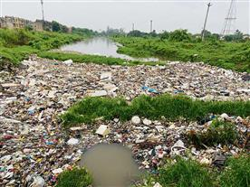 करनाल : जलभराव की समस्या को लेकर आमजन में रोष