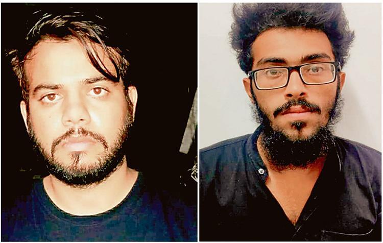 2 आतंकवादियों समेत 6 गिरफ्तार