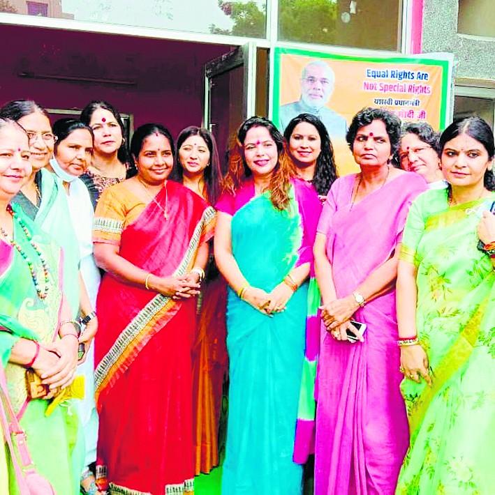 'भाजपा ने चुटकियों में सुलझाये बड़े मुद्दे'