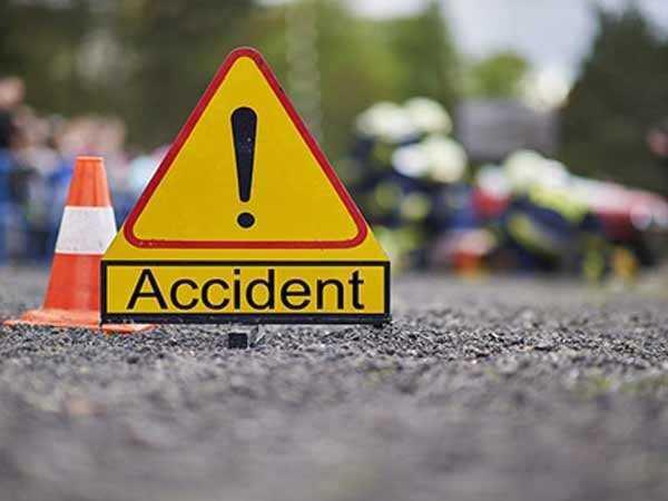 सड़क दुर्घटना में बाइक सवार की मौत