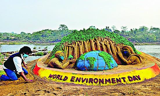 विकास की बलिवेदी पर वनों की आहुति