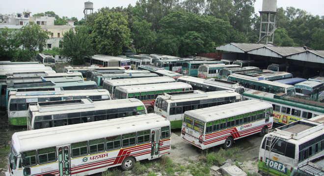 बसों से अमरेंद्र सिंह की फोटो हटाने का निर्देश